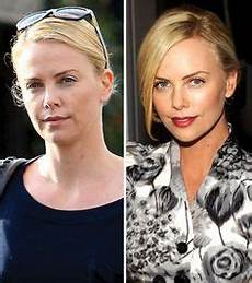 charlize theron ungeschminkt see the who joined the no makeup selfie