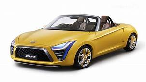 Daihatsu DR Concept A Roadster Of Reduced Size  Dream