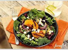 peach salad with cumin dressing_image