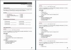 resume template 5 resume australia