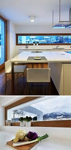 Schmale Fenster F 252 R Die K 252 Che Viel Licht Perfekte