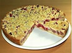 Rhabarberkuchen Mit Pudding Und Streusel - rezept rhabarberkuchen mit baiser oder streusel pudding