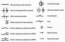 electrical schematic symbols names and identifications us3