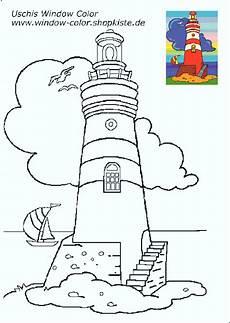 Uschi Window Color Malvorlagen Chords Leuchtturm Vorlagen