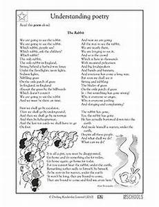 poem worksheet third grade 25391 13 best reading worksheets for 3rd 4th and 5th grades images reading activities 5th grade