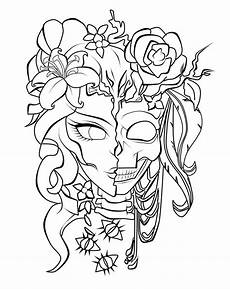 scary coloring pages for adults at getcolorings