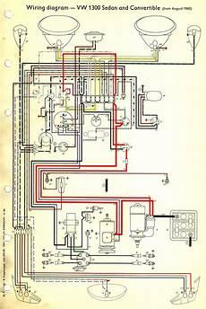 1965 vw bug wiring thesamba type 1 wiring diagrams