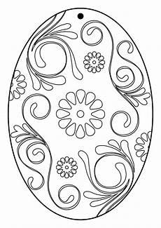Ostereier Ausmalbilder Ausdrucken 5 Bastelvorlagen Ostereier