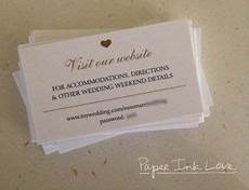 wedding website enclosure card invitation inserts with hashtag registry and rsvp info 25