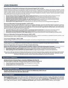 sles executive resume services