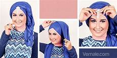 Fashion Tips Jilbab Pesta Gaya Turban Dengan Pashmina