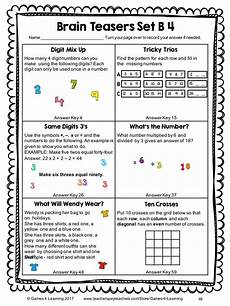 riddle worksheets high school 10914 299 best math classroom images on math math classroom and 4
