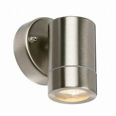 35w outdoor stainless steel down column single wall spot light 240v garden ip44 5017588315315 ebay