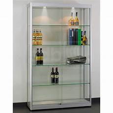 glas vitrine sdb maxime 100 glasvitrine schiebet 252 r aluminium schloss