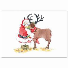 illustrierte weihnachtskarten drucken lassen