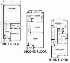 3 story floor plans 3 story townhouse floor plan for sale in houston in 2019