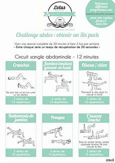 Challenge Ventre Plat 171 Six Pack Workouts