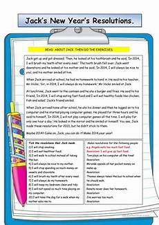 new year esl worksheets 19324 s new year s resolutions worksheet free esl printable worksheets made by teachers