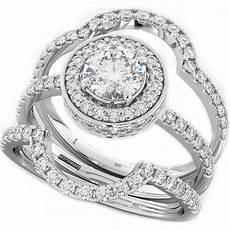 cut cz halo design 3 piece genuine 925 sterling silver luxury unique affordable wedding