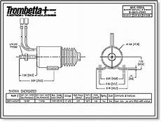 trombetta q series solenoids offered in both 12v and 24v are fully encapsulated side