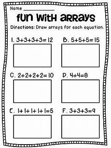 repeated addition addition worksheets and math centers pinterest