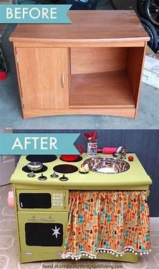play kitchen from furniture crafts crafts that children will diy