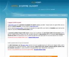 Appel Offre Ouvert Info L Appel D Offre Ouvert