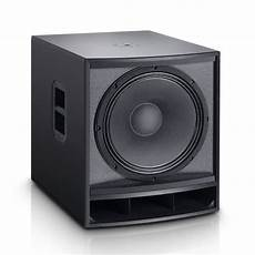 active pa subwoofer ld systems gtsub15a 15 active pa subwoofer at gear4music