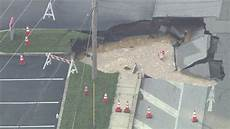 large sinkhole forms in king of prussia youtube