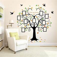 Shaped Photo Frame Tree Wall Sticker Vinyl Wall