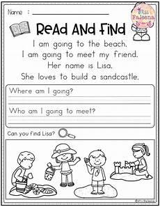 writing comprehension worksheets for grade 2 22810 summer reading comprehension read and find reading comprehension worksheets reading