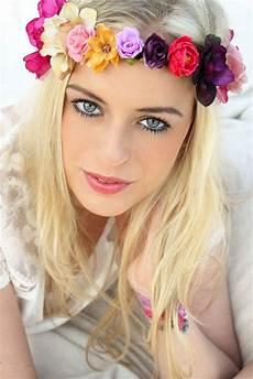 Blumenkranz F 252 R S Haar Crown Haarband Blumen