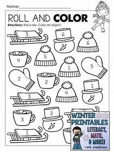 winter printables for kindergarten 20137 winter printables literacy math science winter theme preschool math literacy