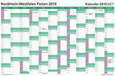 Ferien Nordrhein Westfalen 2018 Ferienkalender 220 Bersicht