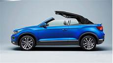 volkswagen raises the roof with the t roc cabriolet