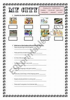 places in my city worksheets 15968 my city esl worksheet by marykate