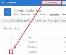 sharepoint list id column solution searching by id column in sharepoint list not working natechamberlain com