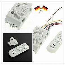 4 kanal 220v wireless lichtschalter funkschalter