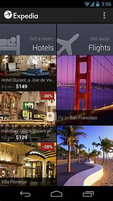expedia android app receives major update to v2 0 now
