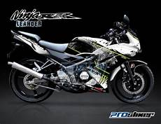 Modifikasi Rr New by Striping 150 Rr New Putih Decal Stiker Modifikasi