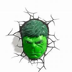 hulk face wall light uk marvel 3d deco light fx avengers hulk face led wall nightlight super awesome toys