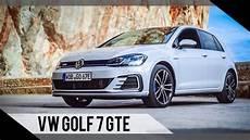 vw golf 7 länge volkswagen golf 7 gte update 2017 test review fahrbericht motorwoche