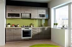 Küchenzeile 2 40m - k 252 che ben 260 cm k 252 chenzeile k 252 chenblock variabel
