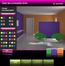 association couleur peinture decoration interieur peinture simulation