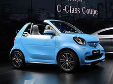 2017 smart fortwo cabrio soft top minicar returns to