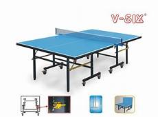 economic indoor size ping pong table single folding