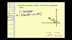 complex numbers in trigonometric form youtube