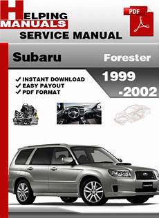 auto repair manual free download 2010 subaru forester on board diagnostic system subaru forester 1999 2002 service repair manual download download