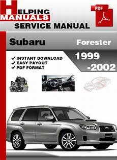 old car repair manuals 1999 subaru forester on board diagnostic system subaru forester 1999 2002 service repair manual download download
