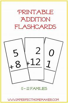 printable math flash cards addition and subtraction 10790 free printable addition flashcards imperfect homemaker